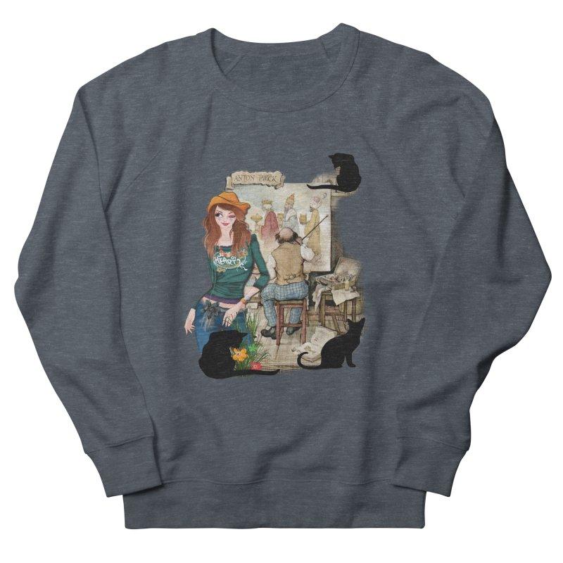 Artist Studio Men's Sweatshirt by justkidding's Artist Shop