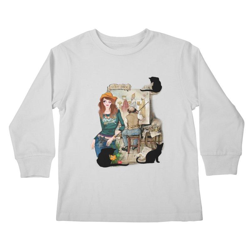 Artist Studio Kids Longsleeve T-Shirt by justkidding's Artist Shop