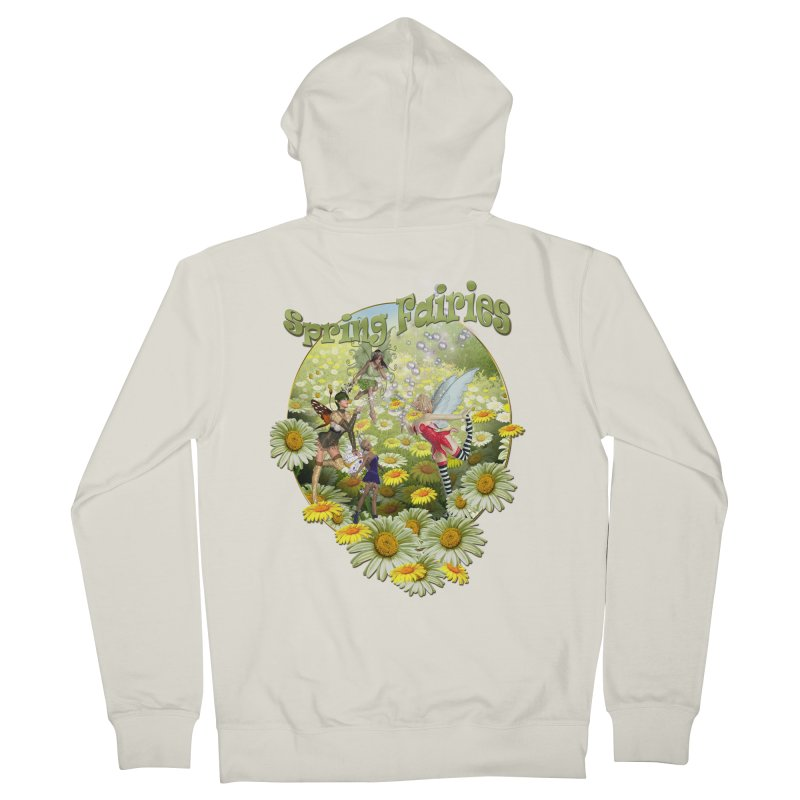 Spring Has Arrived Men's Zip-Up Hoody by justkidding's Artist Shop