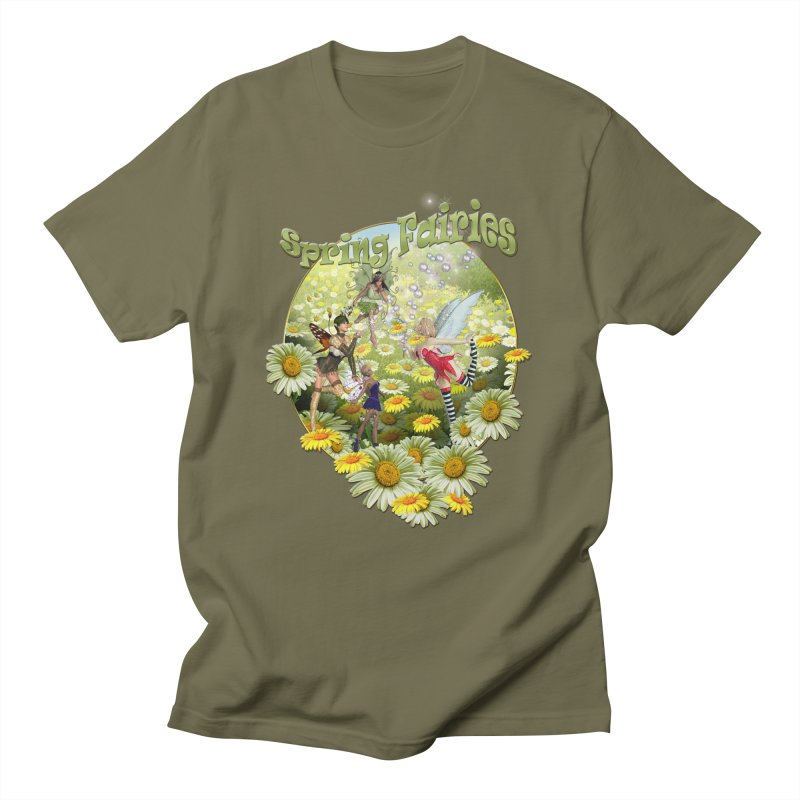 Spring Has Arrived Men's T-shirt by justkidding's Artist Shop