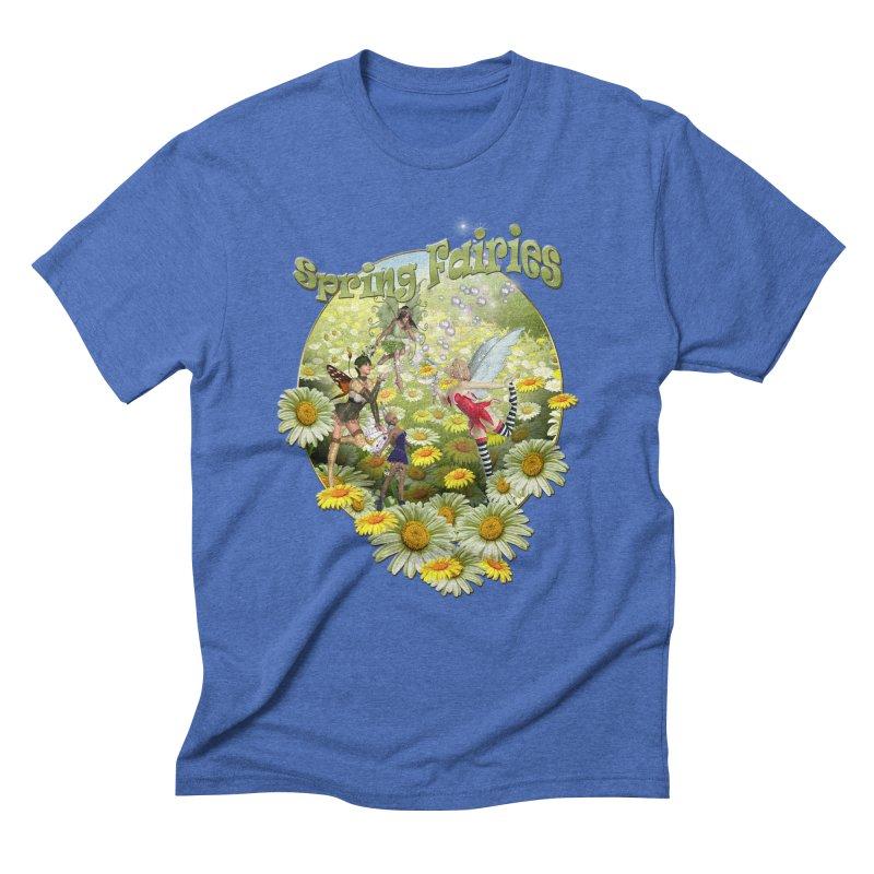Spring Has Arrived Men's Triblend T-Shirt by NadineMay Artist Shop