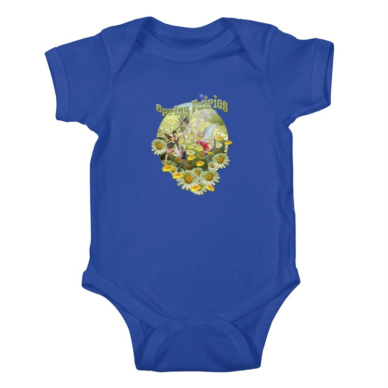 Spring Has Arrived Kids Baby Bodysuit by justkidding's Artist Shop