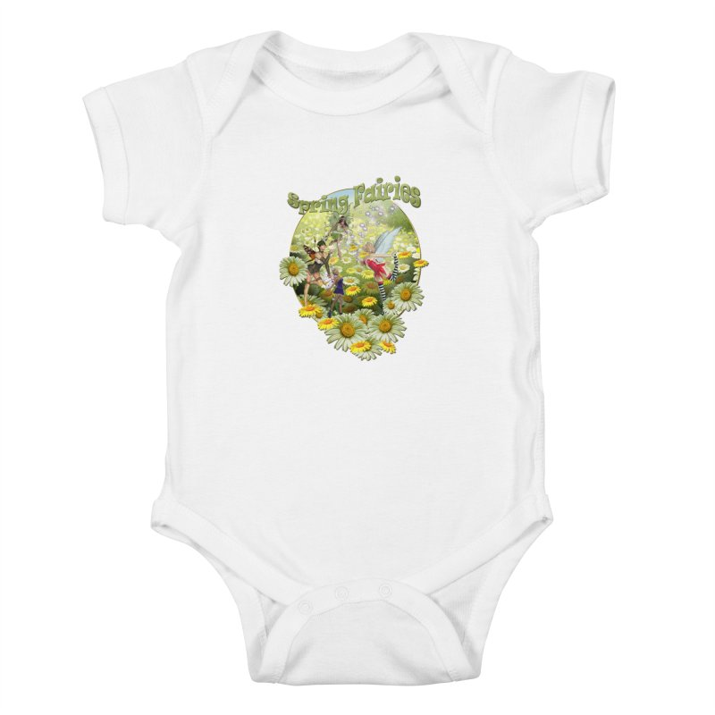 Spring Has Arrived Kids Baby Bodysuit by NadineMay Artist Shop
