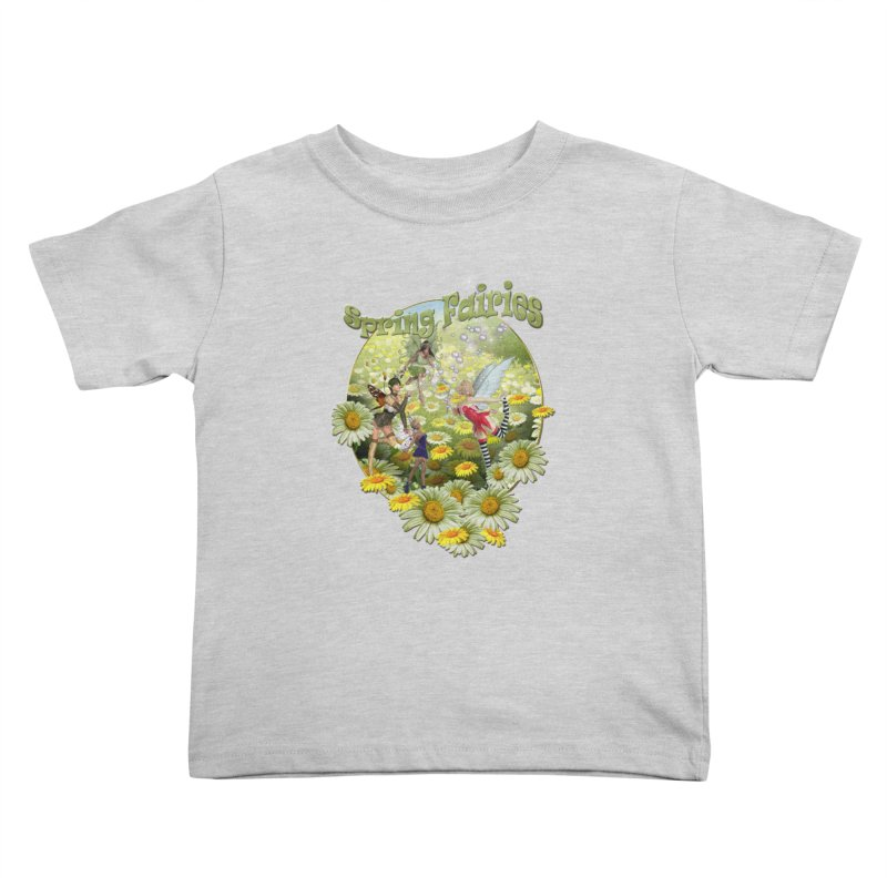 Spring Has Arrived Kids Toddler T-Shirt by NadineMay Artist Shop