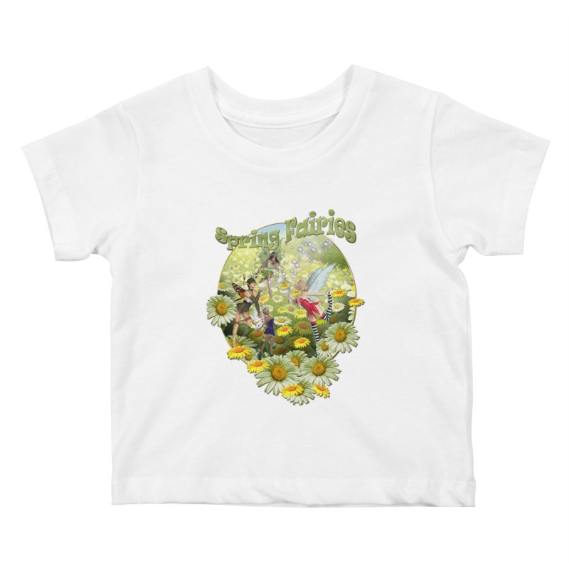 Spring Has Arrived Kids Baby T-Shirt by NadineMay Artist Shop