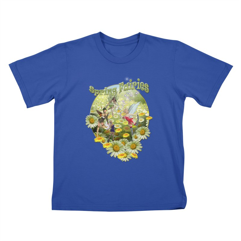 Spring Has Arrived Kids T-shirt by justkidding's Artist Shop