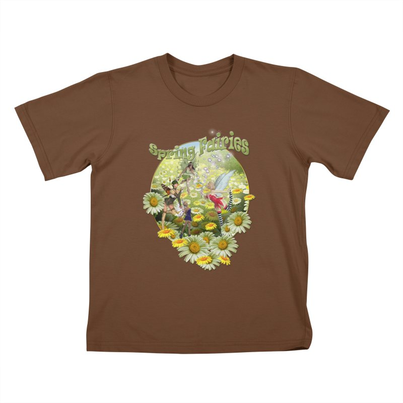 Spring Has Arrived Kids T-Shirt by NadineMay Artist Shop