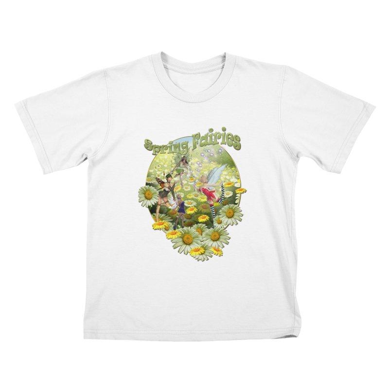 Spring Has Arrived Kids T-Shirt by NadineMay Artist Shop