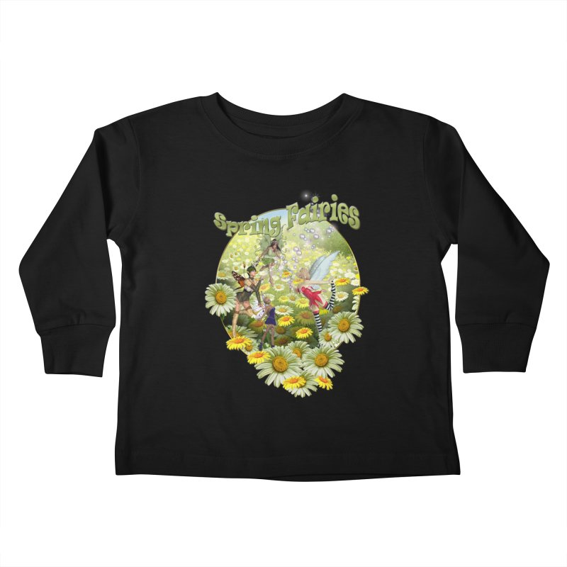 Spring Has Arrived Kids Toddler Longsleeve T-Shirt by justkidding's Artist Shop