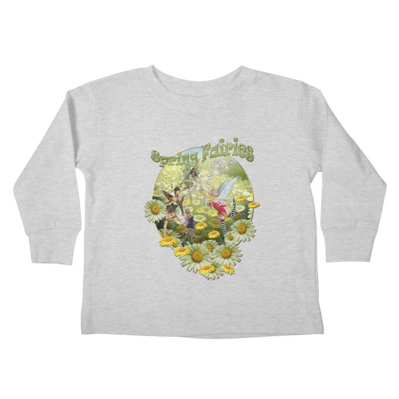 Spring Has Arrived Kids Toddler Longsleeve T-Shirt by NadineMay Artist Shop