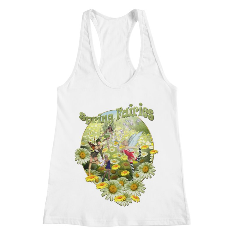 Spring Has Arrived Women's Racerback Tank by NadineMay Artist Shop