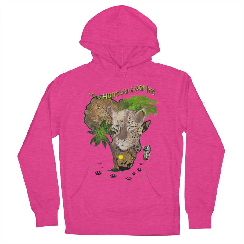 Only hunt with a zoom lens Men's Pullover Hoody by justkidding's Artist Shop