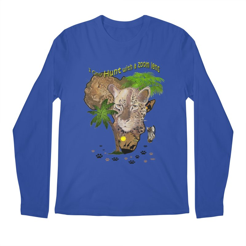 Only hunt with a zoom lens Men's Longsleeve T-Shirt by justkidding's Artist Shop