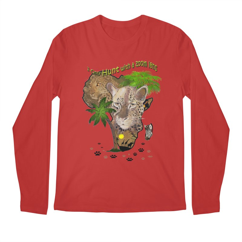 Only hunt with a zoom lens Men's Longsleeve T-Shirt by NadineMay Artist Shop