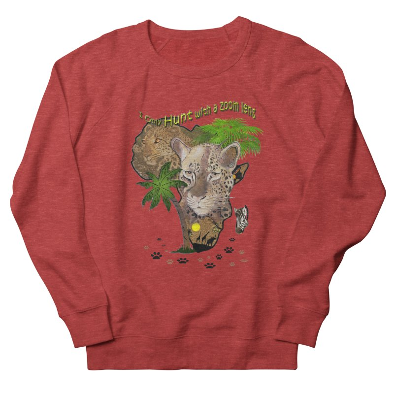 Only hunt with a zoom lens Men's Sweatshirt by NadineMay Artist Shop