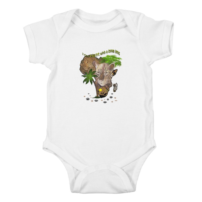Only hunt with a zoom lens Kids Baby Bodysuit by justkidding's Artist Shop