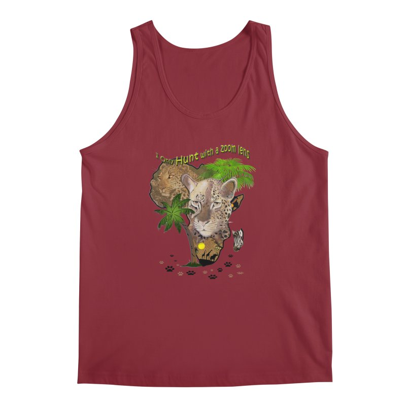 Only hunt with a zoom lens Men's Tank by NadineMay Artist Shop
