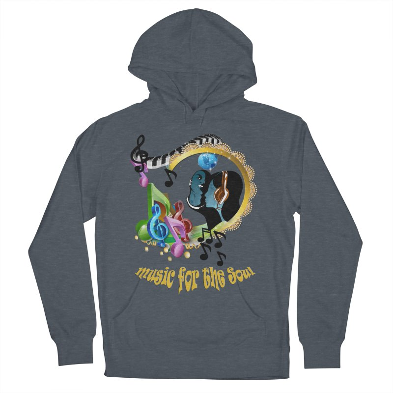 Music for the Soul Men's Pullover Hoody by NadineMay Artist Shop
