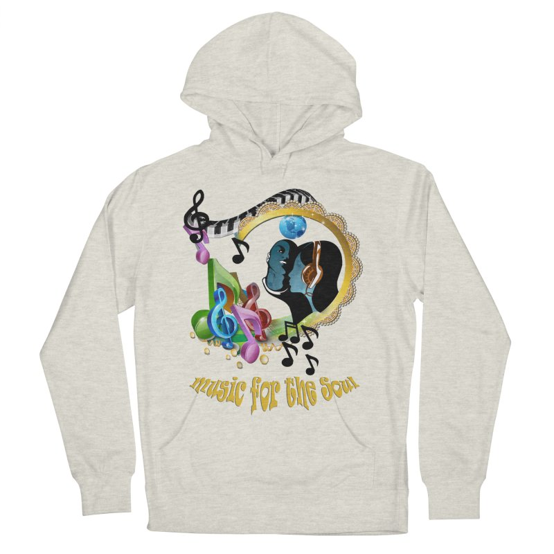 Music for the Soul Men's Pullover Hoody by justkidding's Artist Shop
