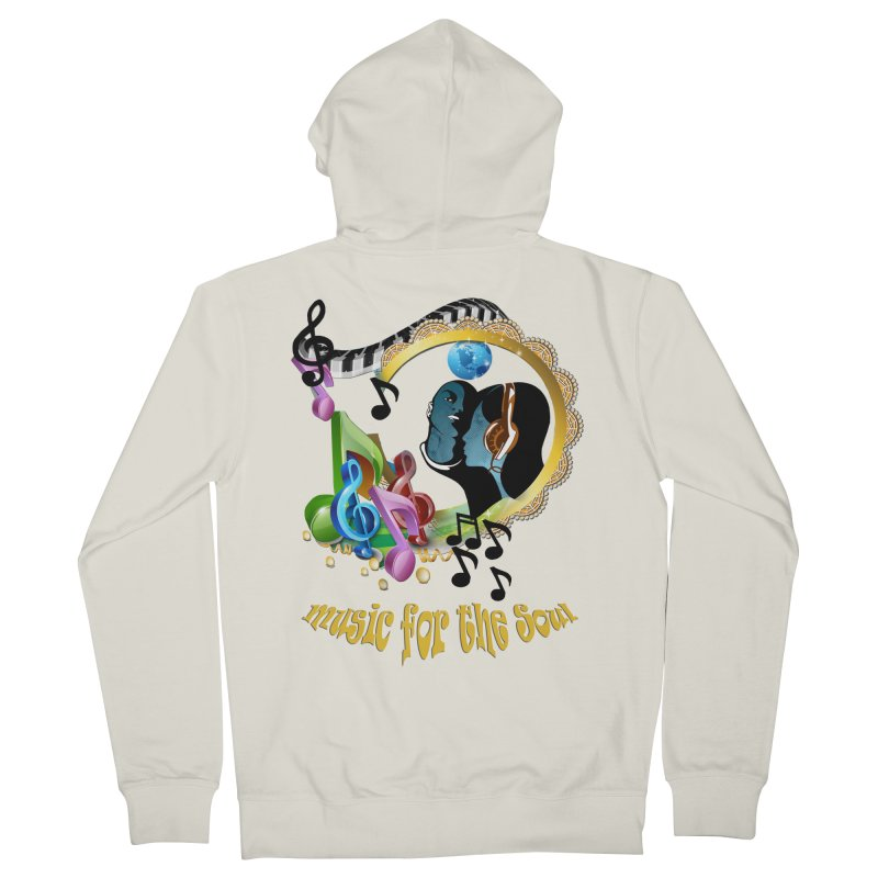 Music for the Soul Women's Zip-Up Hoody by justkidding's Artist Shop