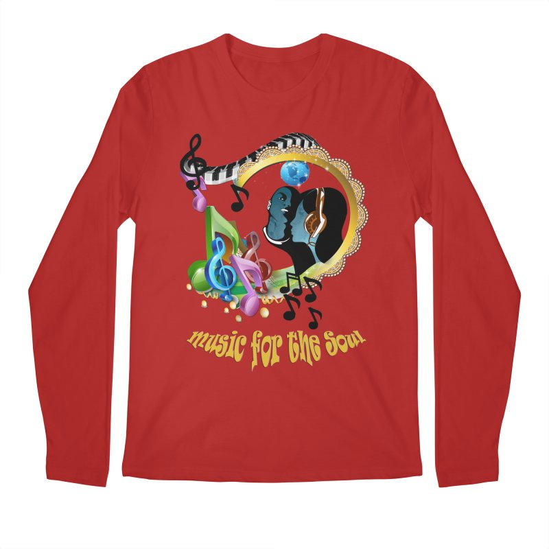 Music for the Soul Men's Longsleeve T-Shirt by justkidding's Artist Shop