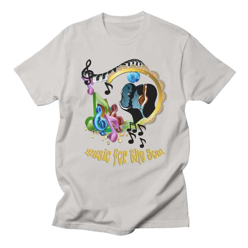 Music for the Soul Men's T-shirt by justkidding's Artist Shop