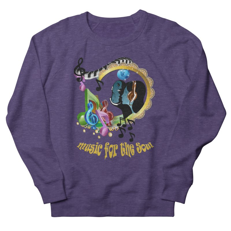 Music for the Soul Men's Sweatshirt by justkidding's Artist Shop