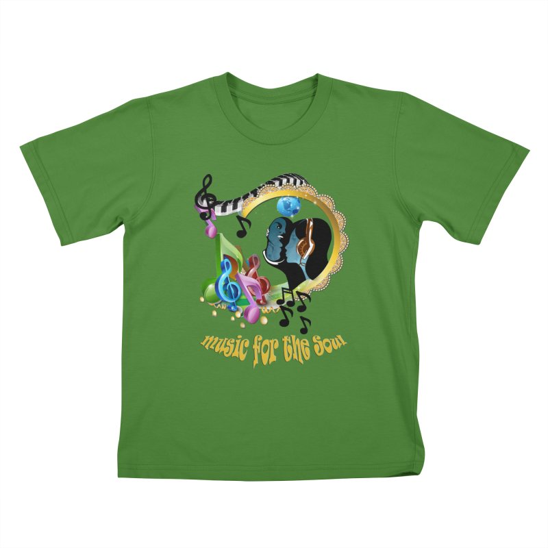 Music for the Soul Kids T-shirt by justkidding's Artist Shop