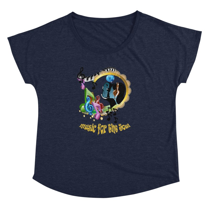 Music for the Soul Women's Dolman by NadineMay Artist Shop