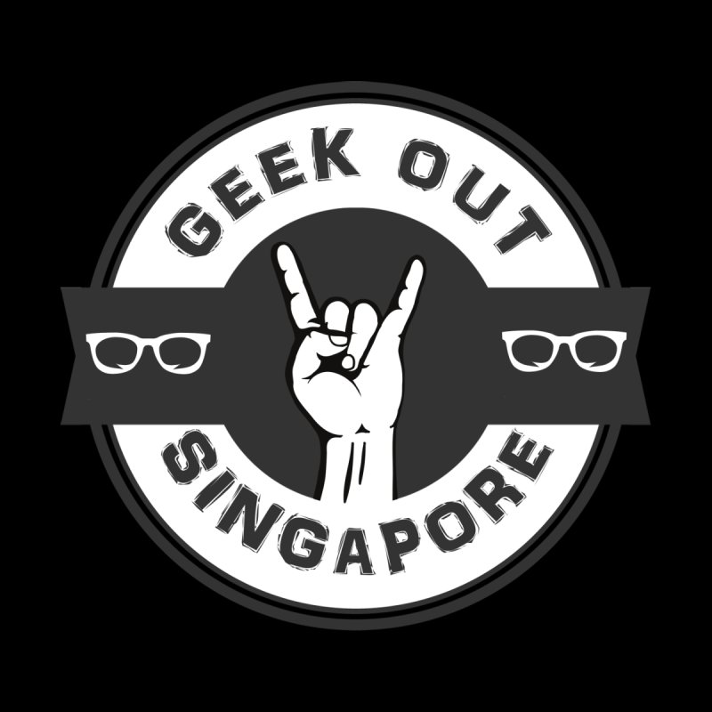 Geek Out Singapore Men's Pullover Hoody by Swag Stop by justsaying.ASIA