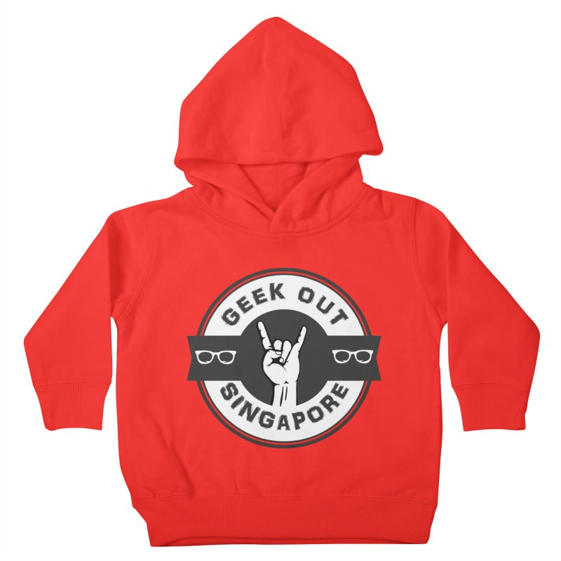 Geek Out Singapore Kids Toddler Pullover Hoody by Swag Stop by justsaying.ASIA