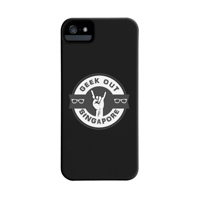 Geek Out Singapore Accessories Phone Case by Swag Stop by justsaying.ASIA