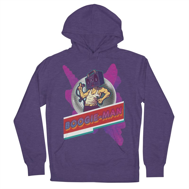 The Boogie-Man Women's French Terry Pullover Hoody by Swag Stop by justsaying.ASIA