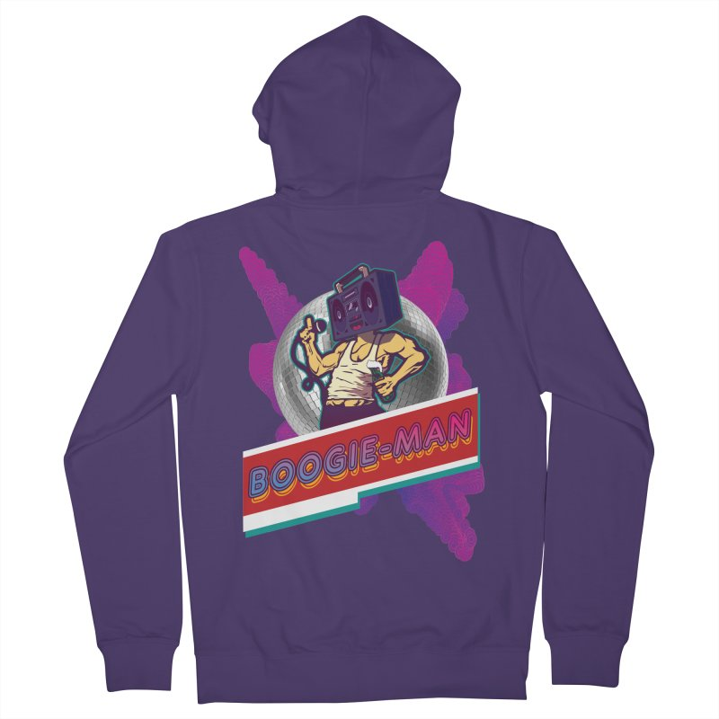 The Boogie-Man Women's French Terry Zip-Up Hoody by Swag Stop by justsaying.ASIA