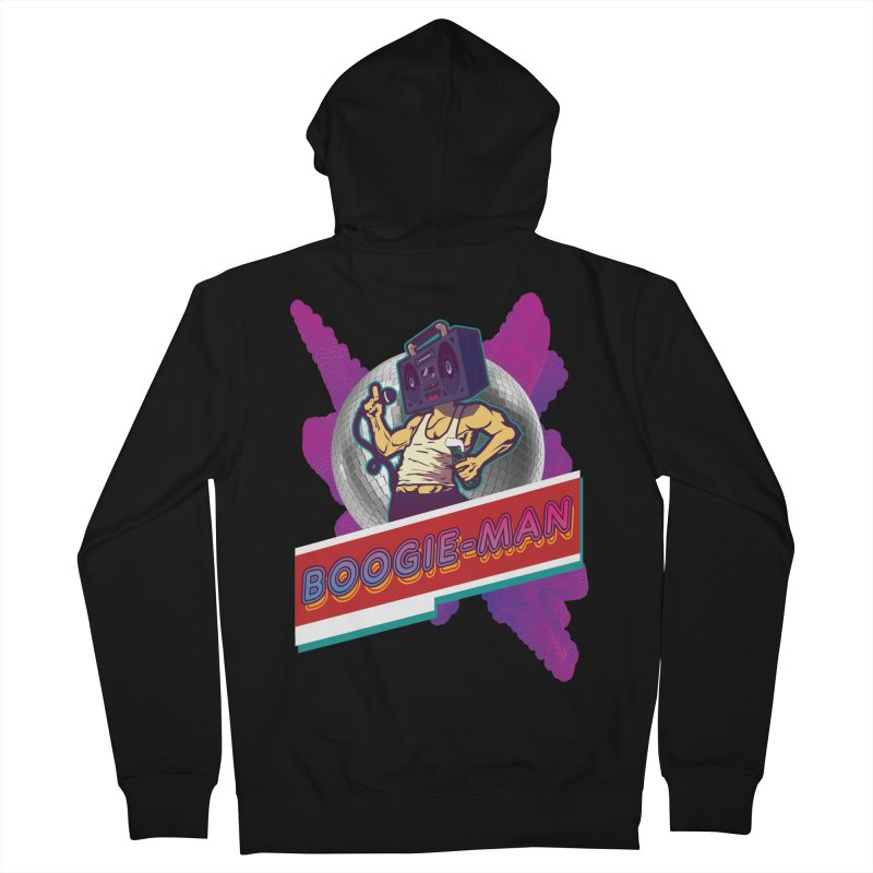 The Boogie-Man Men's Zip-Up Hoody by Swag Stop by justsaying.ASIA