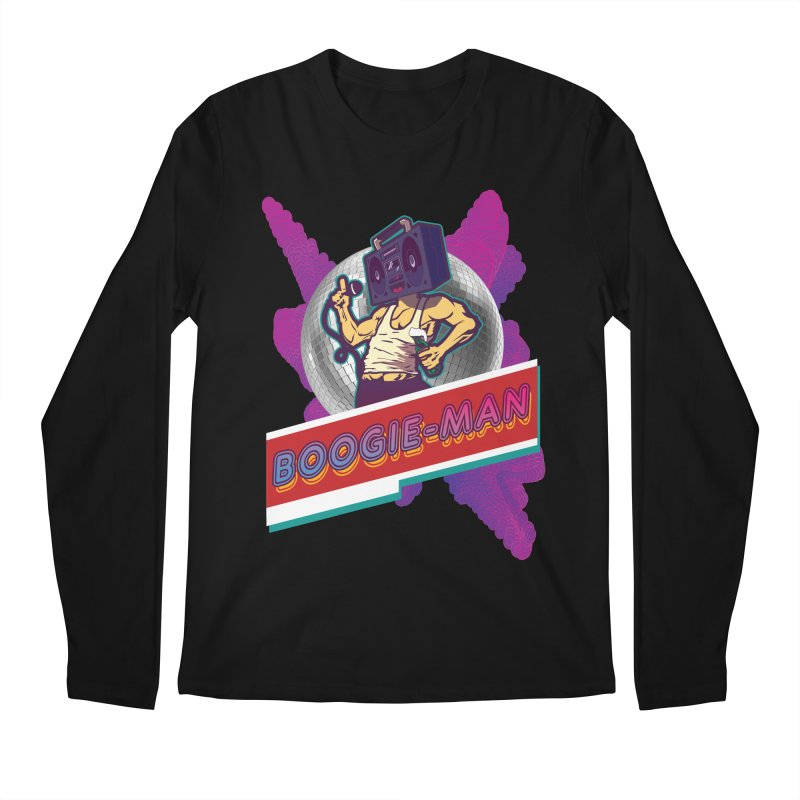 The Boogie-Man Men's Regular Longsleeve T-Shirt by Swag Stop by justsaying.ASIA