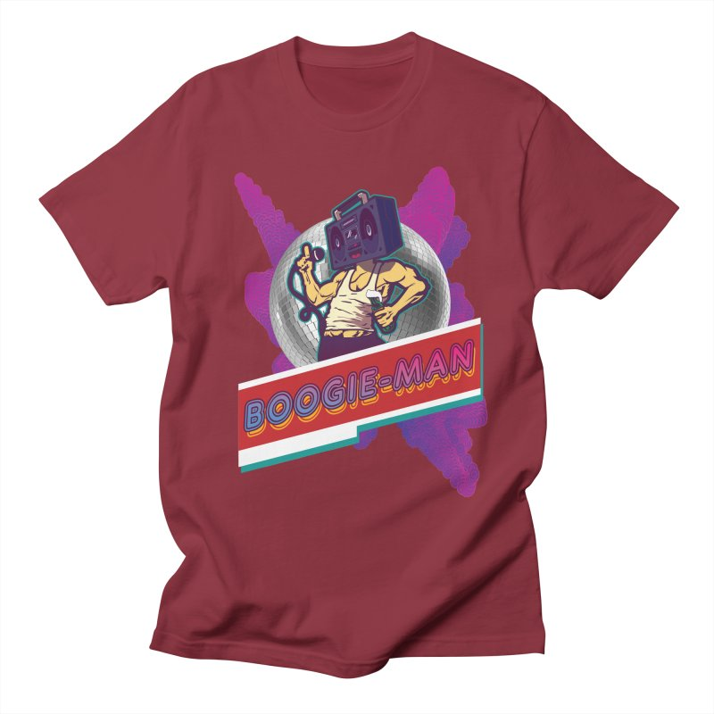 The Boogie-Man Men's T-Shirt by Swag Stop by justsaying.ASIA