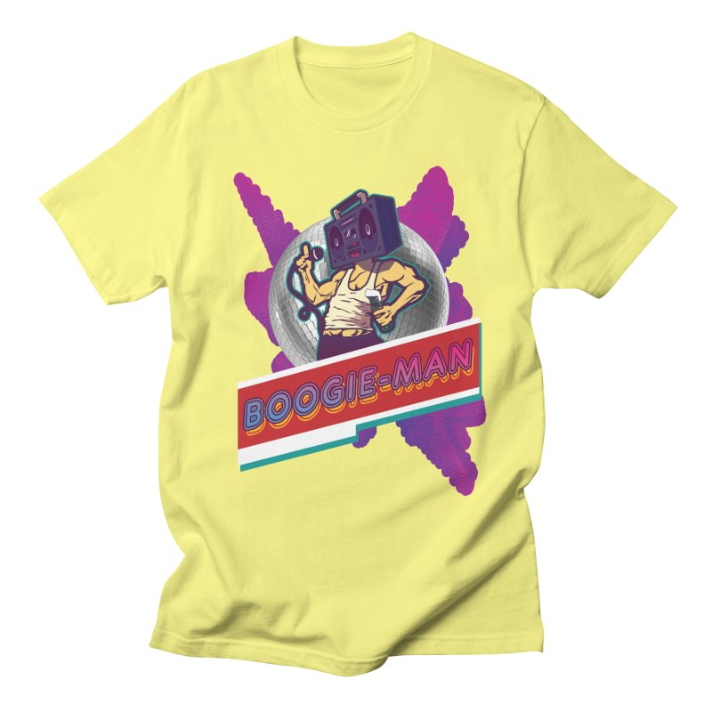 The Boogie-Man Men's Regular T-Shirt by Swag Stop by justsaying.ASIA