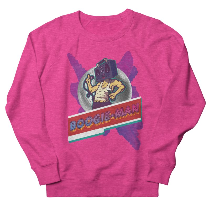 The Boogie-Man Men's French Terry Sweatshirt by Swag Stop by justsaying.ASIA