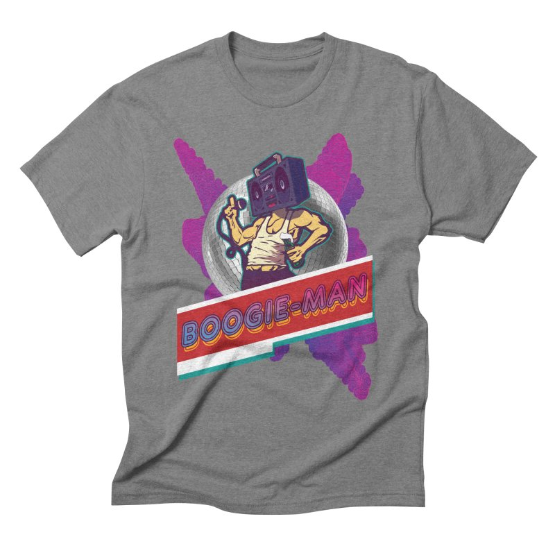 The Boogie-Man Men's Triblend T-Shirt by Swag Stop by justsaying.ASIA