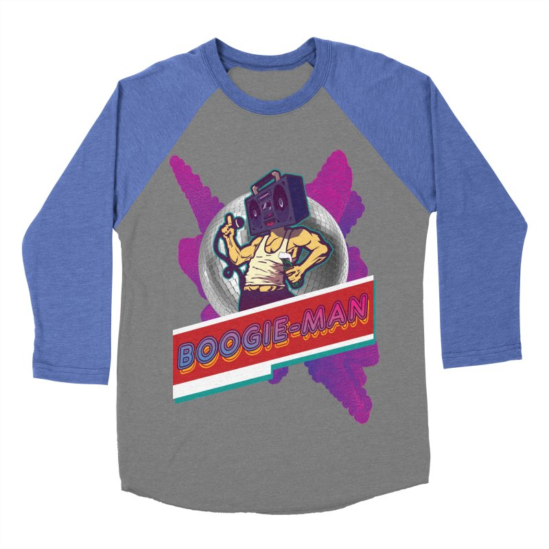 The Boogie-Man Women's Baseball Triblend Longsleeve T-Shirt by Swag Stop by justsaying.ASIA