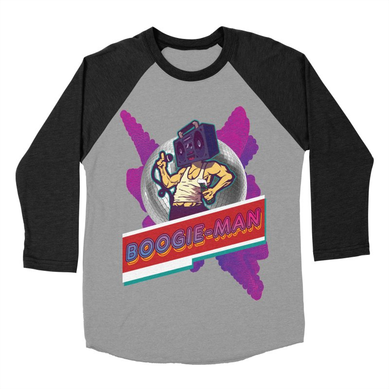 The Boogie-Man Men's Baseball Triblend T-Shirt by Swag Stop by justsaying.ASIA