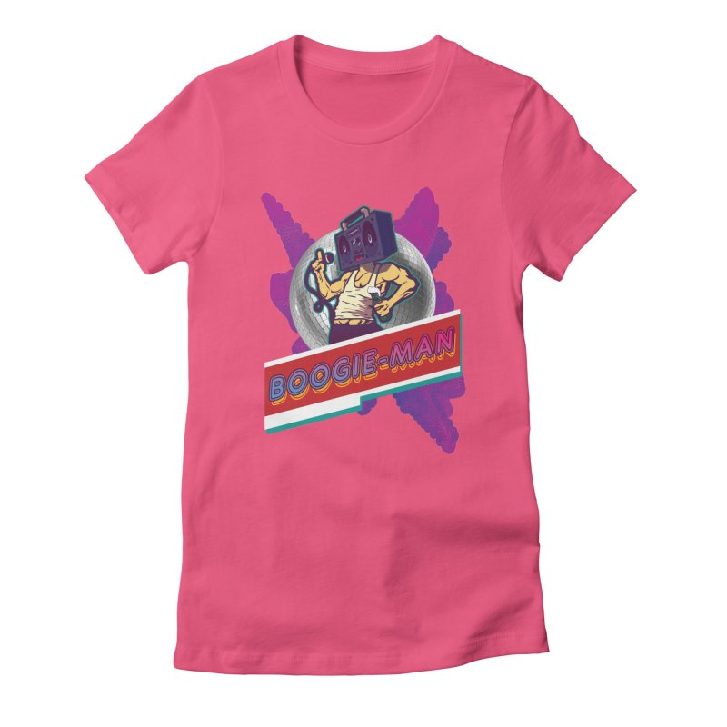 The Boogie-Man Women's T-Shirt by Swag Stop by justsaying.ASIA