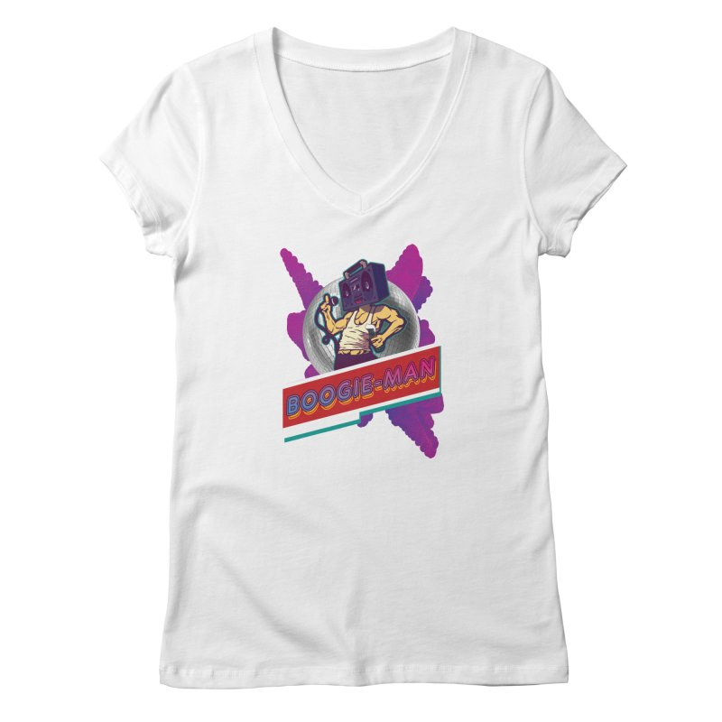 The Boogie-Man Women's V-Neck by Swag Stop by justsaying.ASIA