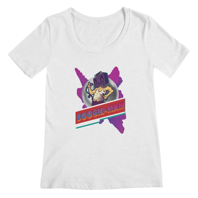 The Boogie-Man Women's Regular Scoop Neck by Swag Stop by justsaying.ASIA