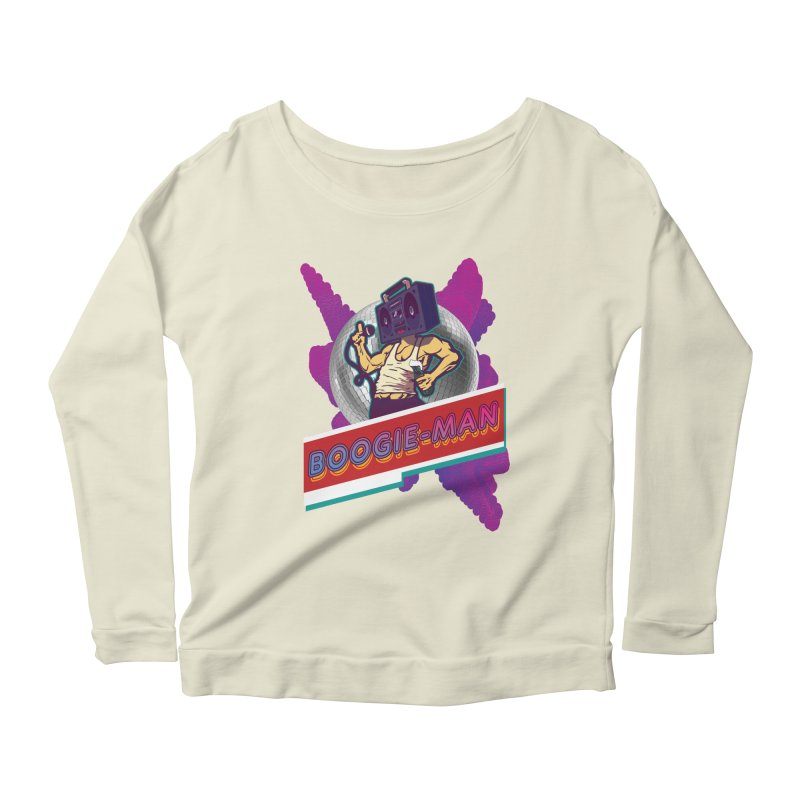 The Boogie-Man Women's Longsleeve Scoopneck  by Swag Stop by justsaying.ASIA