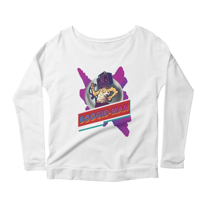 The Boogie-Man Women's Scoop Neck Longsleeve T-Shirt by Swag Stop by justsaying.ASIA