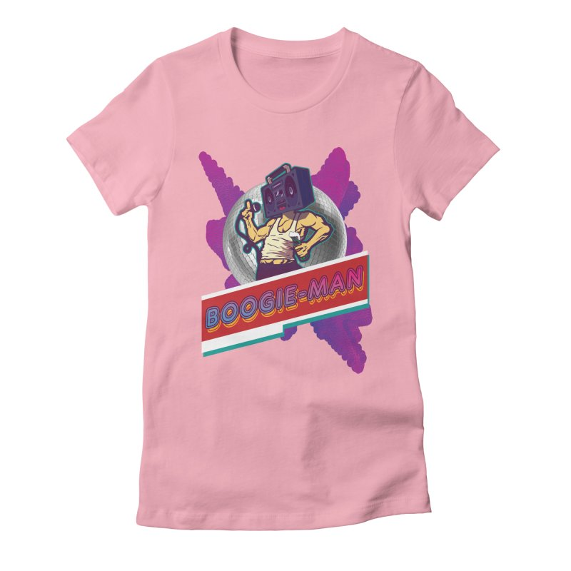 The Boogie-Man Women's Fitted T-Shirt by Swag Stop by justsaying.ASIA