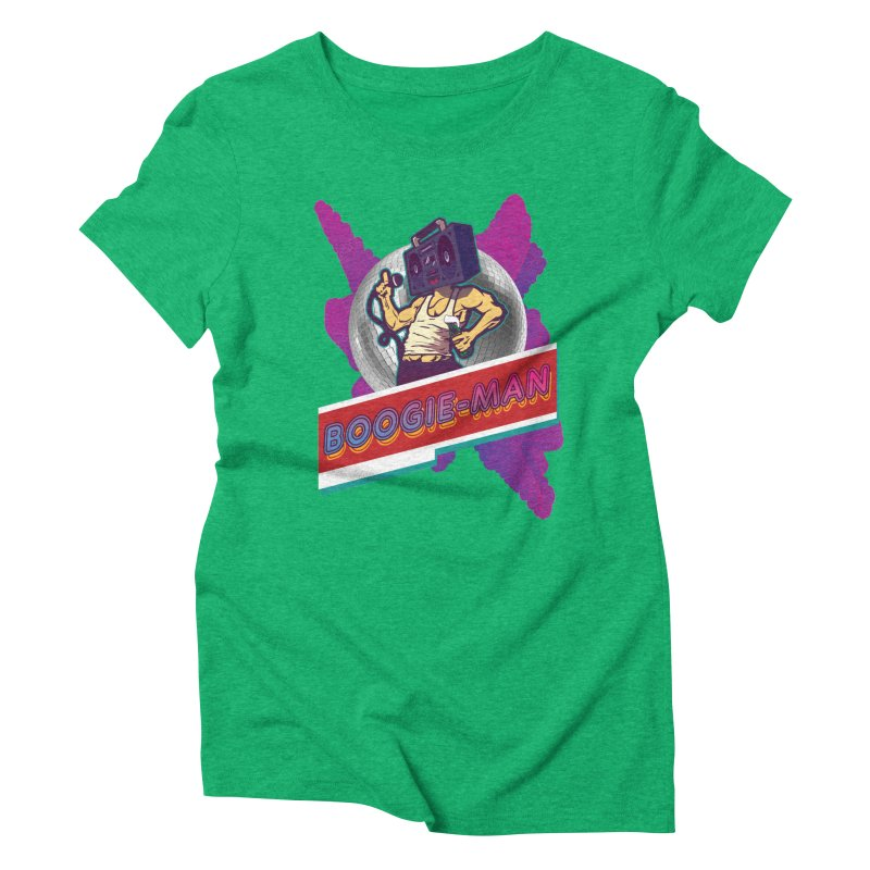 The Boogie-Man Women's Triblend T-Shirt by Swag Stop by justsaying.ASIA
