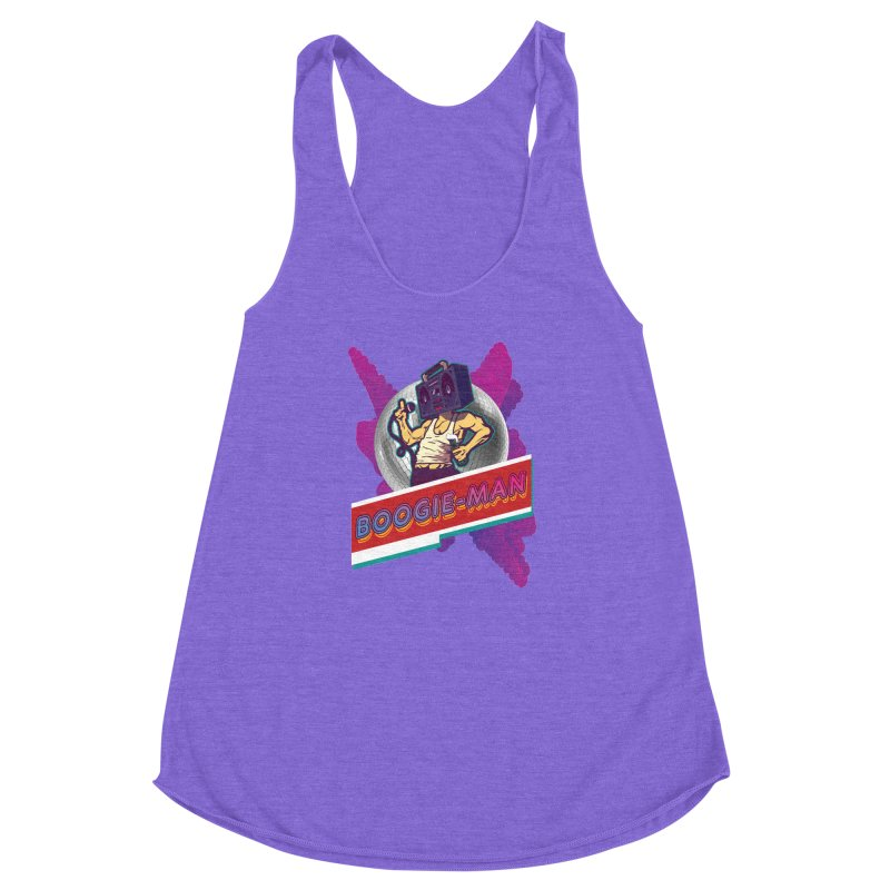 The Boogie-Man Women's Racerback Triblend Tank by Swag Stop by justsaying.ASIA